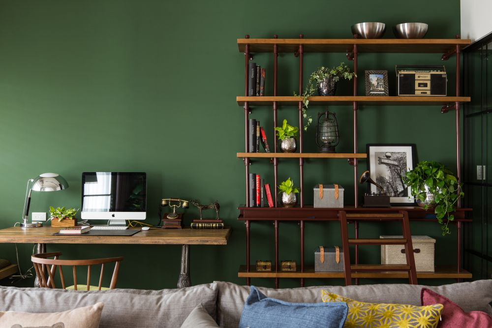 誰說工業風無法收納!運用設計感家具收得巧又漂亮