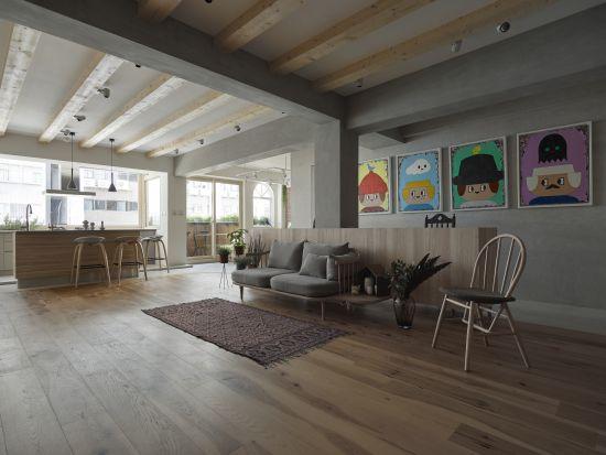 融入大自然的鄉村宅 - 混搭風 - 36-50坪