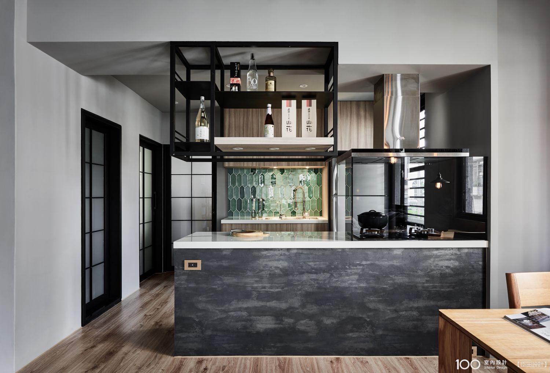 工業風廚房