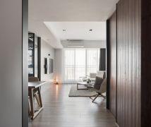 光感流動的綠意宅 - 現代風 - 36-50坪