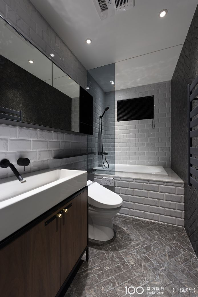 現代風衛浴