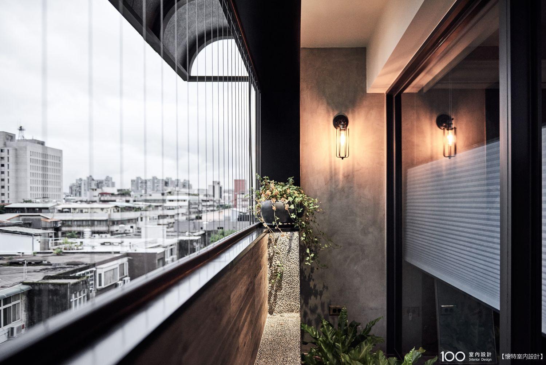 現代風窗台