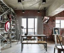 原汁原味的loft - 工業風 - 21-35坪