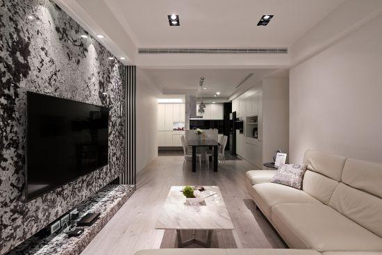 低調 奢華X採光 - 現代風 - 36-50坪