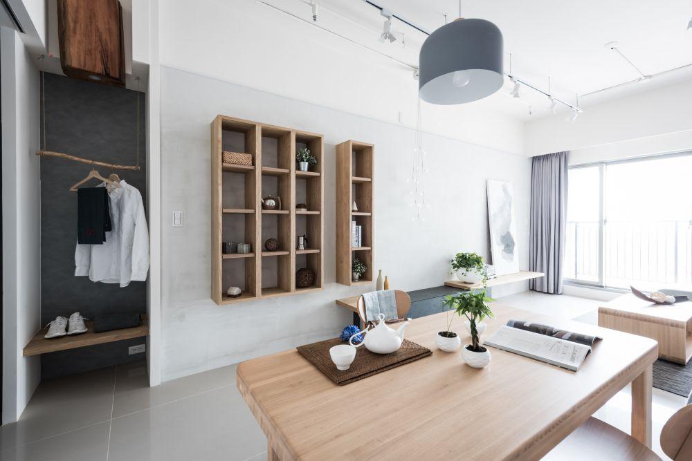 書香+木香氣的日式質樸家