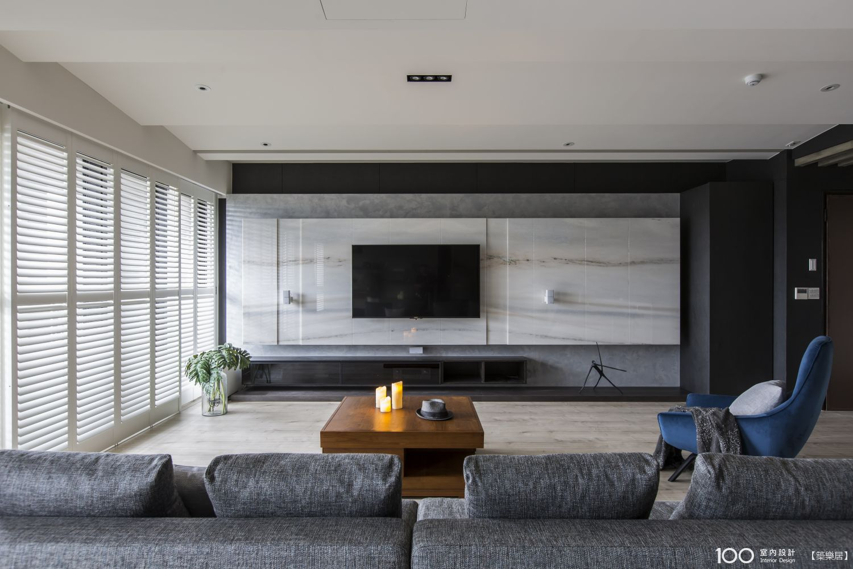 現代風客廳