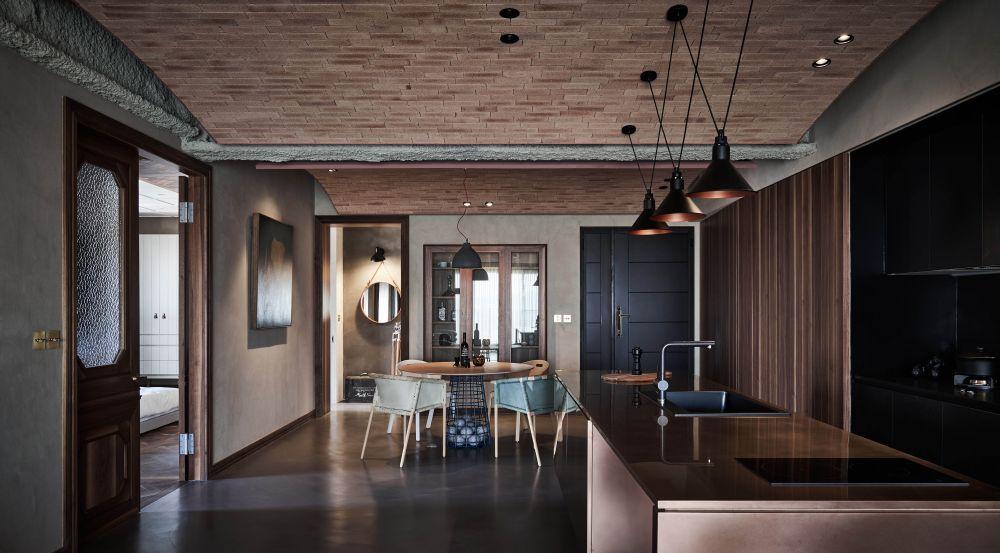 溫暖木質調,創造復古暖色親子宅
