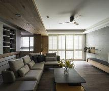 青峰景-清水模沉靜暖居 - 現代風 - 36-50坪