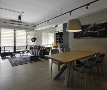 K HOUSE - 工業風 - 10-20坪