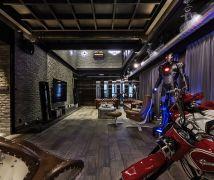 居家美式小酒館 - 工業風 - 81坪以上