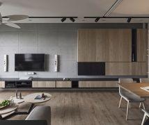 淡水L宅 - 現代風 - 36-50坪