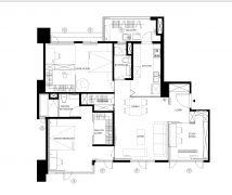 暖暖K宅 - 現代風 - 21-35坪