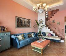 Casa de Campo湛藍, 透天別墅的南歐境 - 鄉村風 - 36-50坪