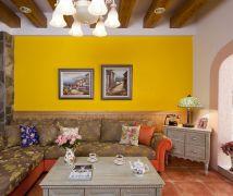 Color-Combos夏日沁,長型屋的美式鄉村風 - 混搭風 - 10-20坪
