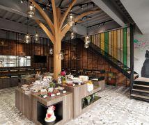 新竹-芙洛麗大飯店烘培坊2店 - 工業風 - 81坪以上