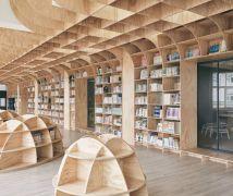 國小圖書室 - 現代風 - 81坪以上