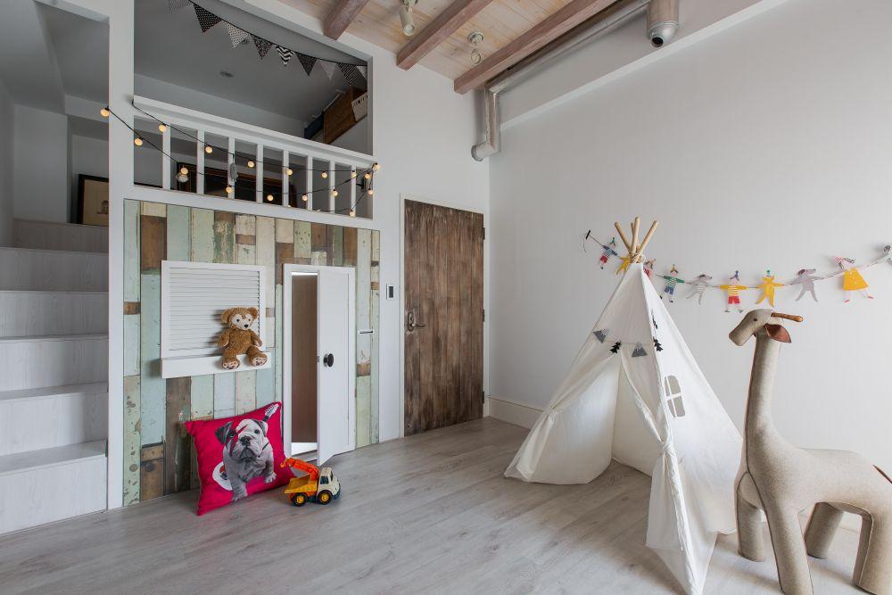 兒童房這樣做,連大人都想住進去
