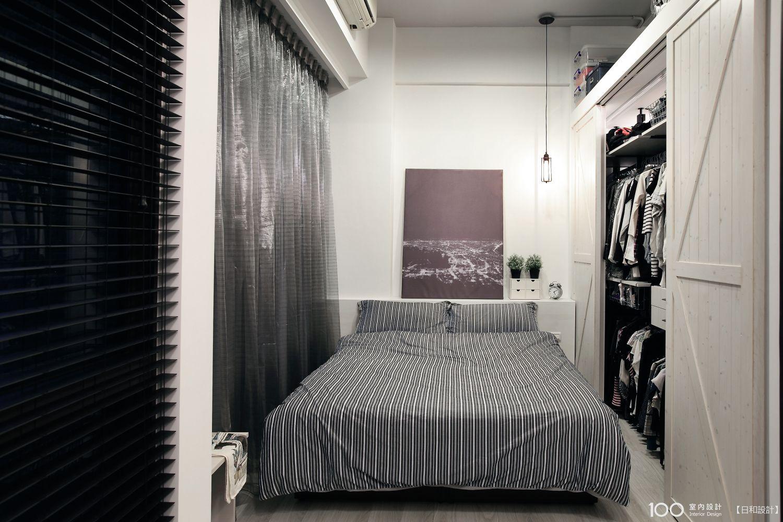 工業風臥室