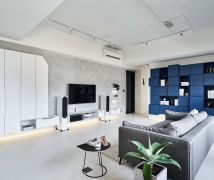 竹北C宅 - 現代風 - 36-50坪