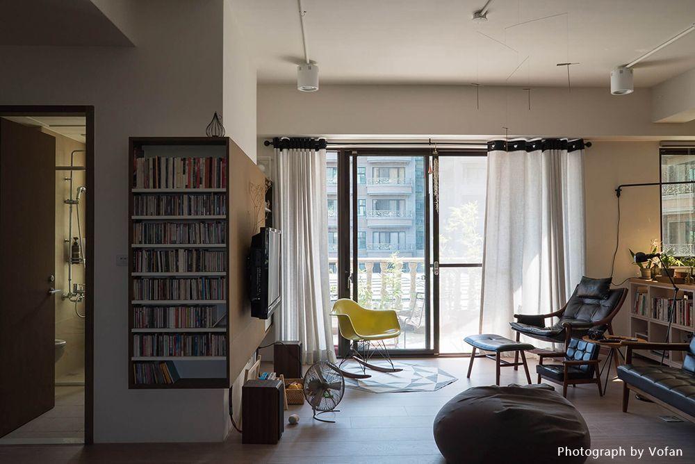 簡易材質留白空間,讓生活展現最真實的家