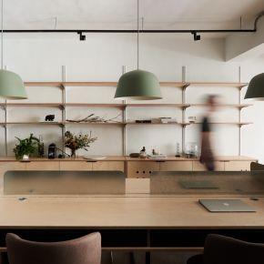 以家為概念的新創辦公室 工業風 中古屋