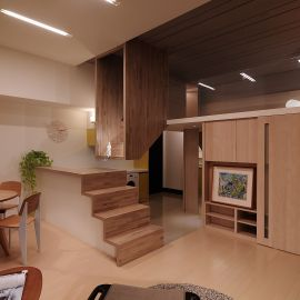 Stair house