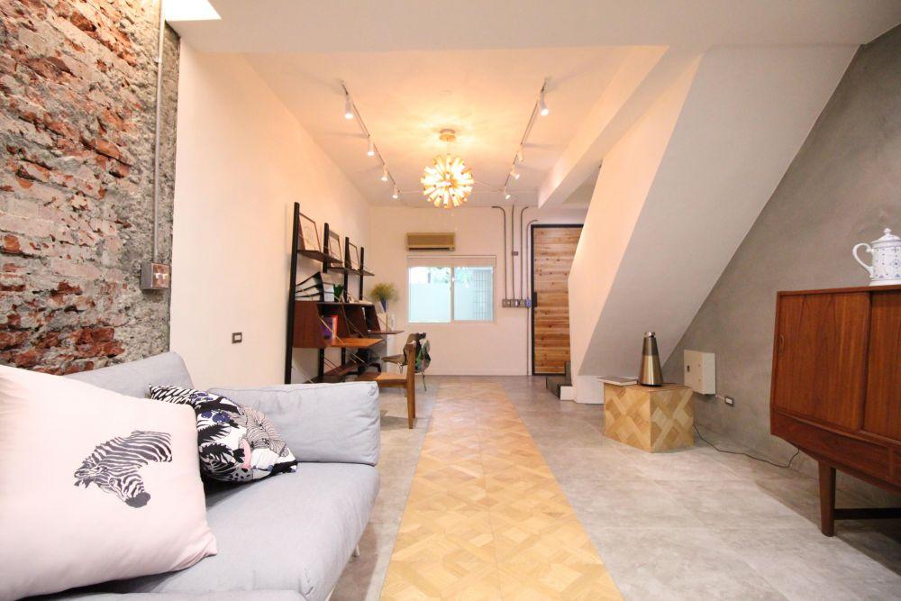 簡單設計暖色家具,打造復古色居家