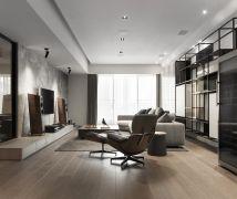 簡約木色現代暖馨居 - 現代風 - 51-80坪