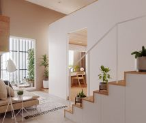 超強採光的9坪機能小宅 - 現代風 - 10坪以下
