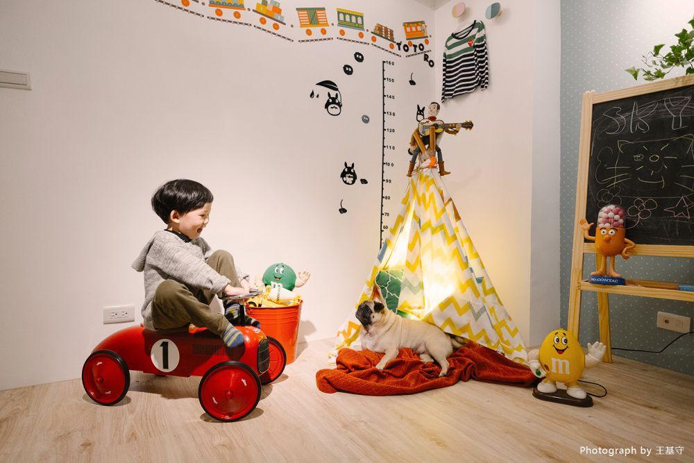 減一房更開闊!為心愛的小男孩打造最好的家