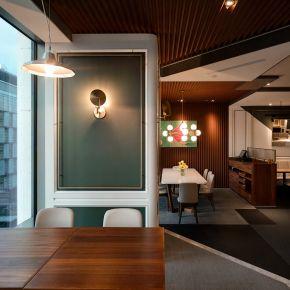 朵頤排餐館 現代風 老屋翻新