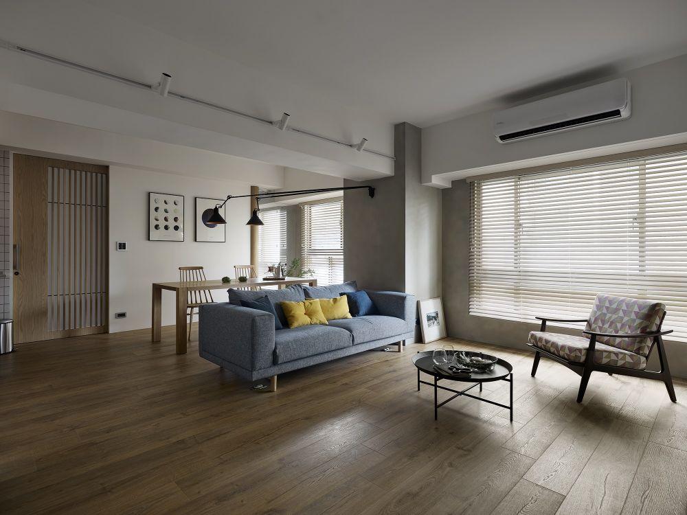 順應環境變化,用材質與日式元素打造會呼吸的家
