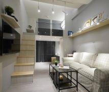 適合小資族的挑高夾層屋 - 現代風 - 10坪以下