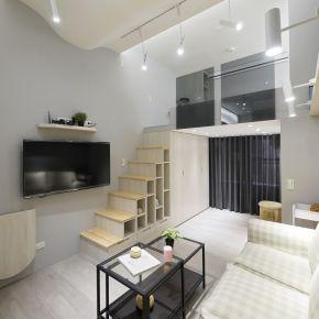 適合小資族的挑高夾層屋 現代風 新成屋