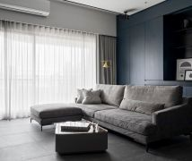 台北W宅 - 現代風 - 36-50坪