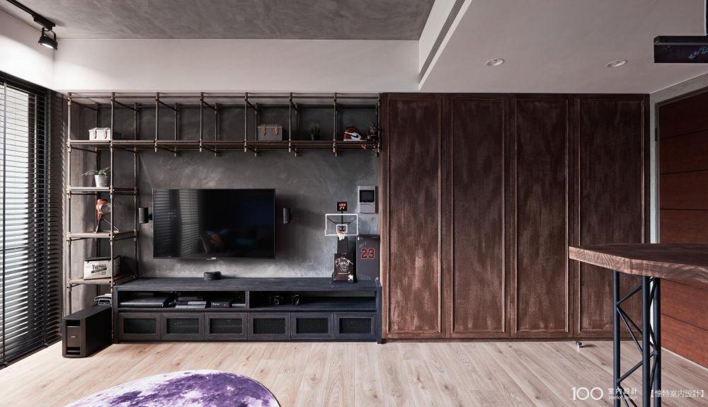 5大重點搞懂工業風電視牆設計