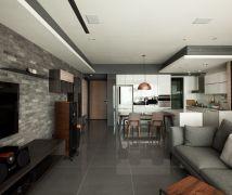 簡約T宅 - 現代風 - 36-50坪