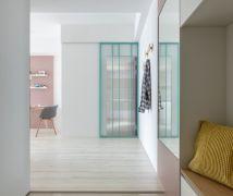 Pink bubble - 現代風 - 21-35坪