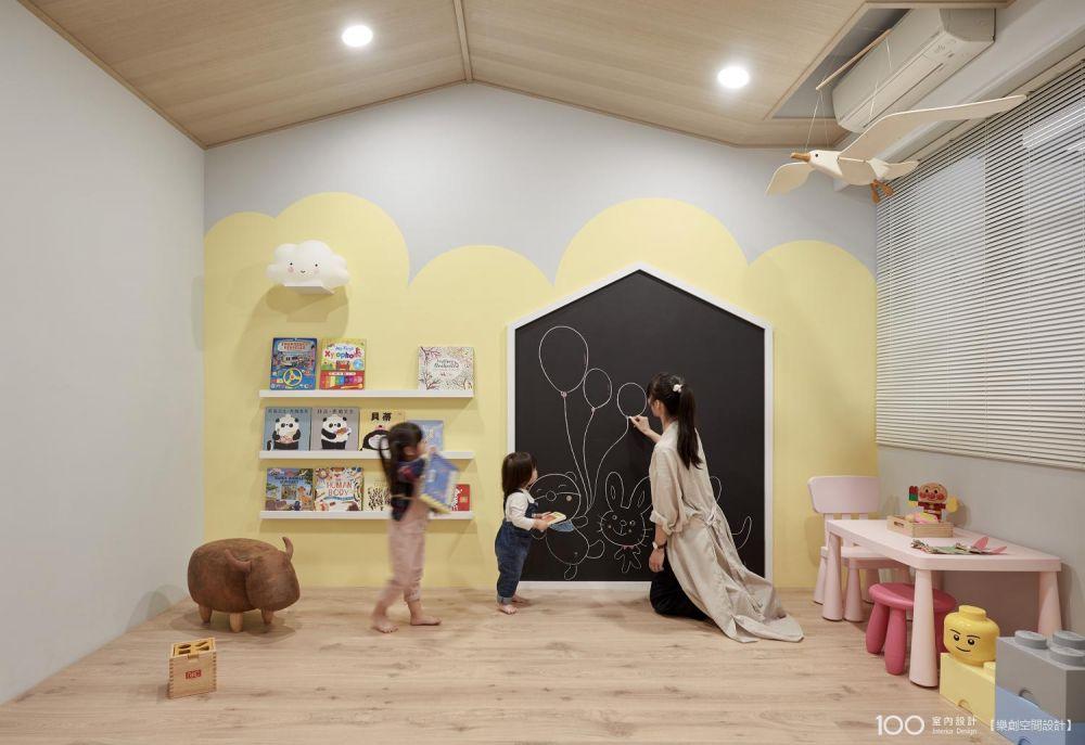 這樣的兒童房設計,不退流行又好看