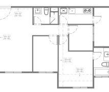 淡水X宅 - 現代風 - 10-20坪