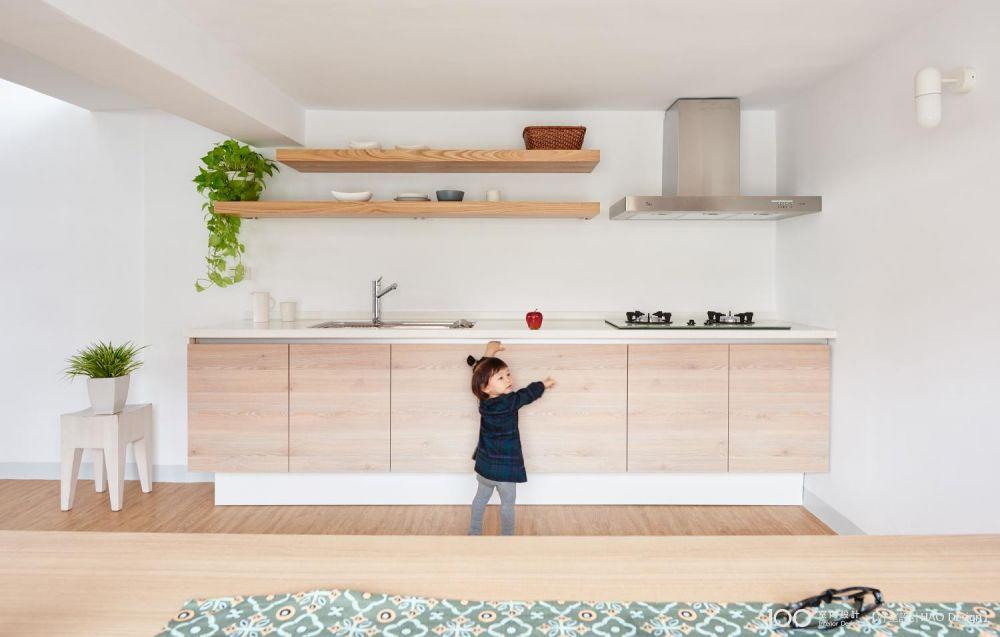 五種開放式廚房的收納祕訣