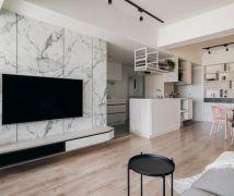 自然系日光公寓 - 北歐風 - 21-35坪