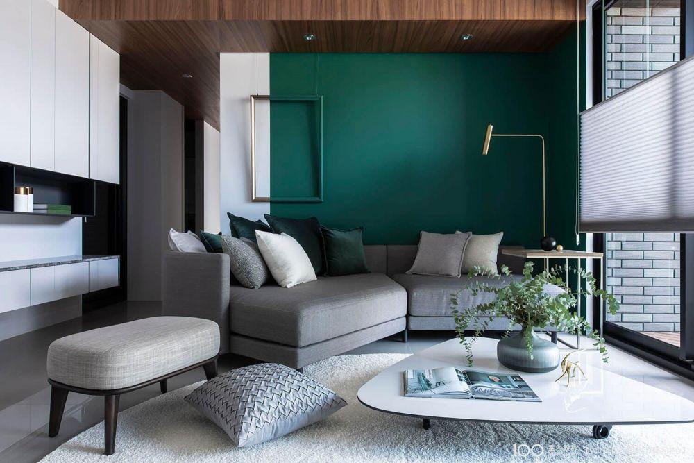 客廳色彩這樣選,你家也有北歐風