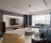 溫暖現代美式, 互動好生活 - 現代風 - 81坪以上