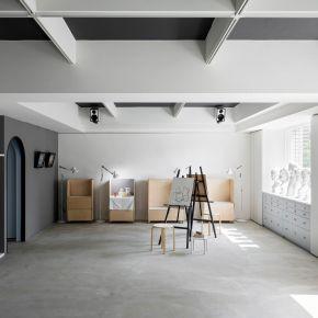 【沐浴晨光的畫室,吸引你的目光】 北歐風 老屋翻新
