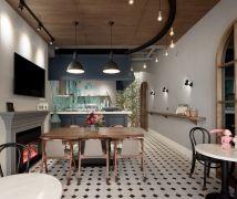 穿越城市秘徑遇見古典咖啡莊園 - 現代風 - 10-20坪