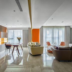 橘光弧影 現代風 新成屋