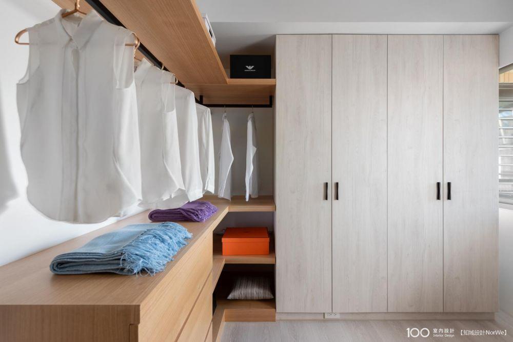 衣櫃收納技巧大公開!從衣櫃設計開始下手,解決所有收納困擾