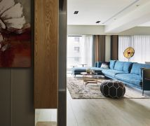 藍旗褐色 - 北歐風 - 51-80坪