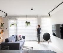 把客廳打開 - 現代風 - 10-20坪